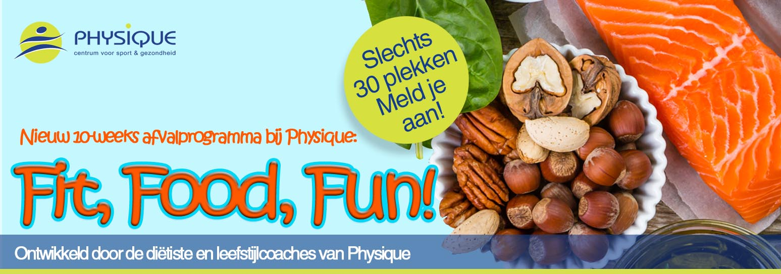 Fit, Food, Fun!