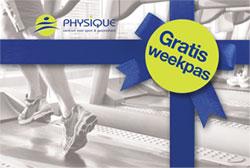 Gratis weekpas voor Fitness en groepslessen bij Physique Arnhem